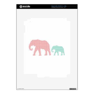 Elefantes Calcomanías Para El iPad 2