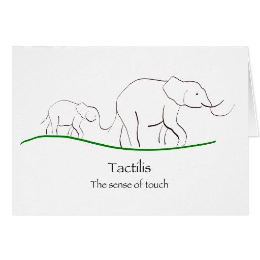 Elefantes Tarjeta De Felicitación