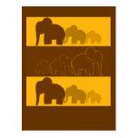 Elefantes Tarjetas Postales