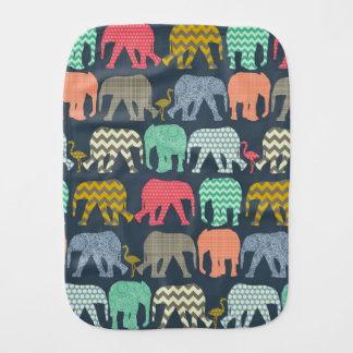 elefantes y flamencos del bebé paños para bebé