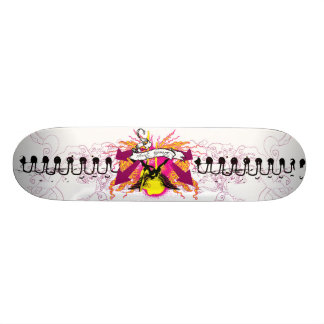 Elegance and Anarchy Custom Skate Board
