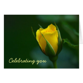 Elegance And Simplicity.  Sunny Birthday Greetings Card at Zazzle