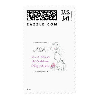 Elegance_bachelorette party postage