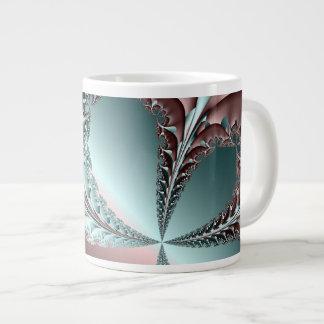 Elegance Fractal Jumbo Mug