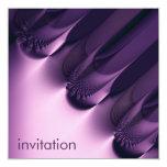 Elegance I · Fractal Art · Purple Custom Announcement