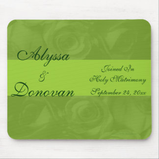 """""""Elegance In Green"""" [a] Mouse Pad"""