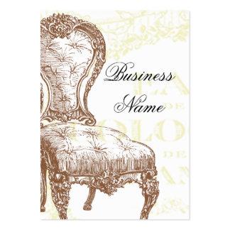 élégance large business card