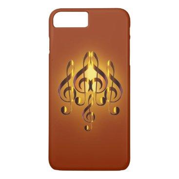 Elegance Musical Heart Design iPhone 8 Plus/7 Plus Case
