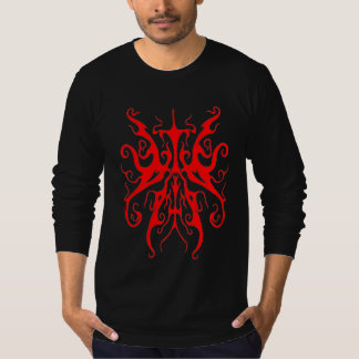 Elegance Tribal Tattoo - red Tee Shirt