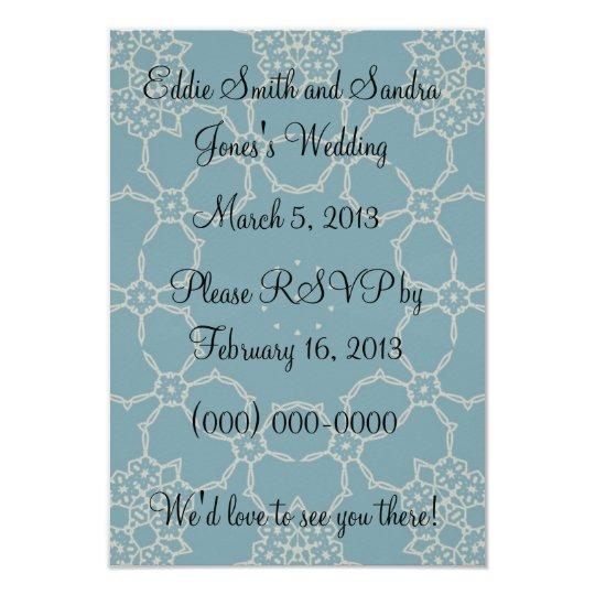 Elegance Wedding RSVP Card