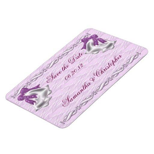 Elegancia #1 de la lila imanes flexibles