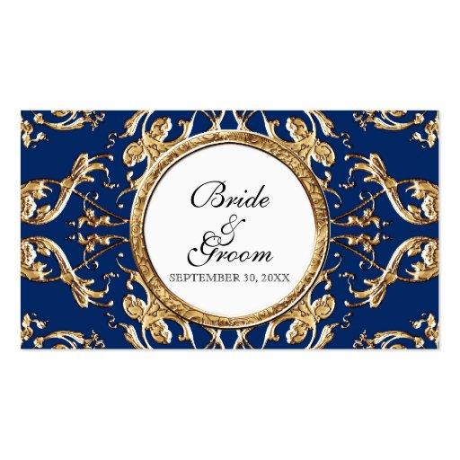 Elegancia 2 del lazo negro - etiquetas del regalo tarjetas de visita