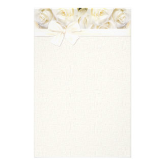 Elegancia 2 del rosa blanco  papeleria
