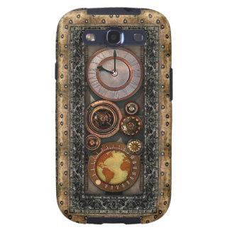 Elegancia #2 del vintage de Steampunk Galaxy S3 Protectores