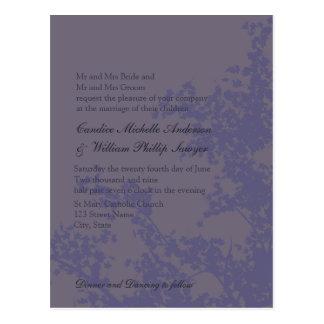 Elegancia azul postales
