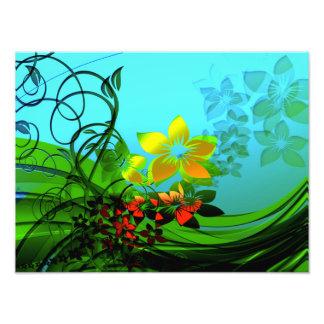 Elegancia de la flor del fractal