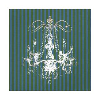 Elegancia de la lámpara - lona envuelta impresión en lona estirada