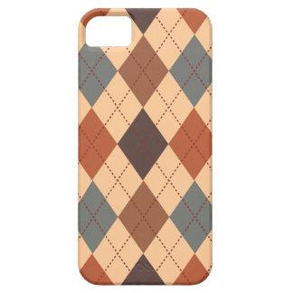 Elegancia de moda retra del tono de la tierra de funda para iPhone SE/5/5s