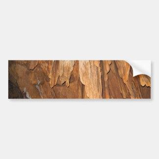 Elegancia de piedra del doblez pegatina de parachoque