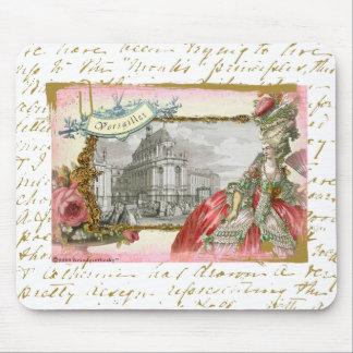 Elegancia de Versalles Marie Antonieta Tapetes De Ratón