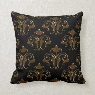 Elegancia del damasco almohadas