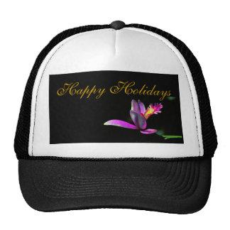 Elegancia del diseño floral del día de fiesta de N Gorra