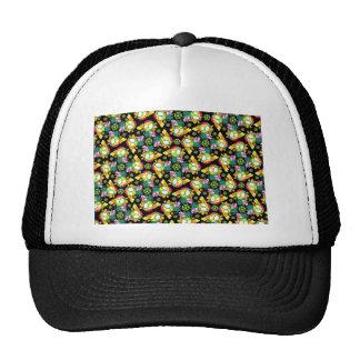 Elegancia del fractal gorras de camionero