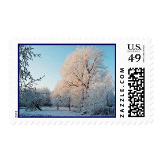 Elegancia del invierno sellos