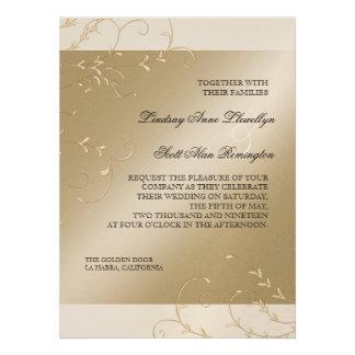 Elegancia del lazo negro, invitaciones de boda pon anuncio