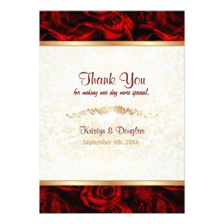 Elegancia del rosa rojo - gracias