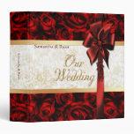 Elegancia del rosa rojo - nuestro boda