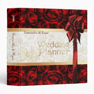 Elegancia del rosa rojo - planificador del boda