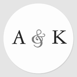Elegancia del signo Sellos grises del sobre Etiqueta Redonda