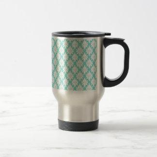 Elegancia en damasco tazas