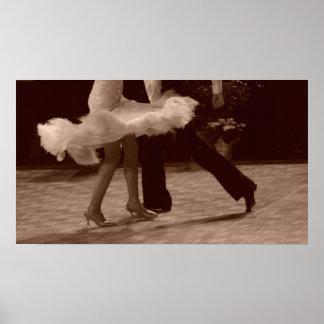 Elegancia en danza impresiones
