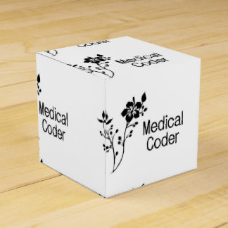 Elegancia médica del codificador cajas para regalos de boda