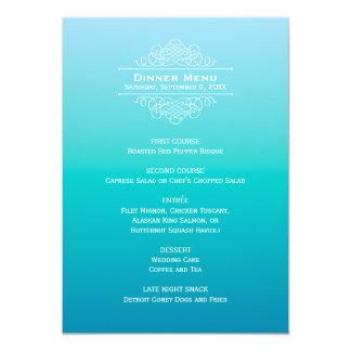 Elegancia moderna de la tarjeta el | Ombre del Invitacion Personal