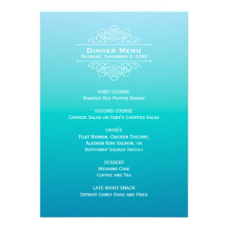 Elegancia moderna de la tarjeta el Ombre del men Invitacion Personal