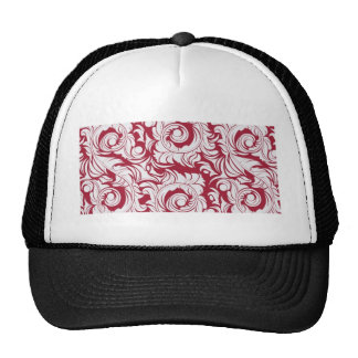 Elegancia roja gorras