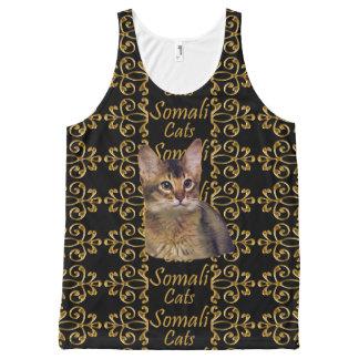 Elegancia somalí del gato