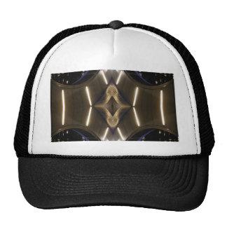 Elegancia urbana inusual futurista de las señales gorras
