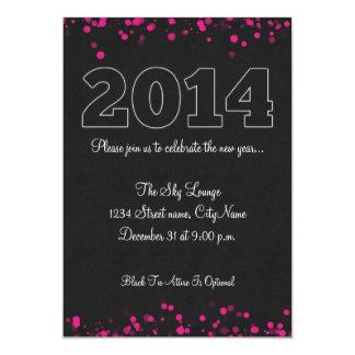 Elegant 2014 New Year's Eve Party Invitation