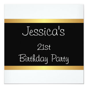save 60 on gold stripes 21st birthday invitations limited time