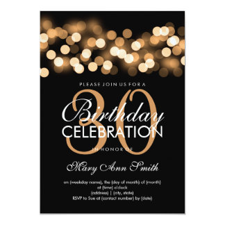 Elegant Birthday Invitations & Announcements | Zazzle