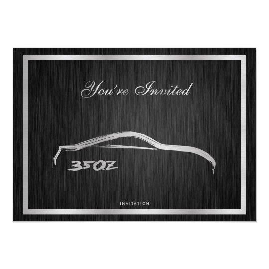 Elegant 350Z Invitation
