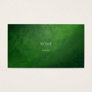 Elegant 3 Green Business Card