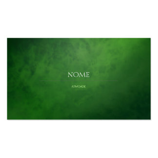 Elegant 3 Green Double-Sided Standard Business Cards (Pack Of 100)