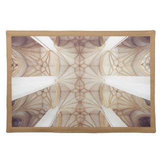 Elegant 3D Designer Dinner Table Cloth Placemats