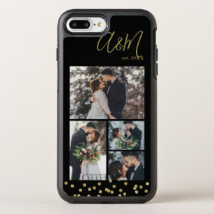 buy online 0fddc 35204 Elegant 4-Photo Collage Personalized OtterBox Symmetry iPhone 8 Plus/7 Plus  Case