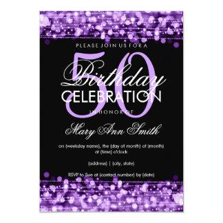 50th Birthday Invitations & Announcements | Zazzle